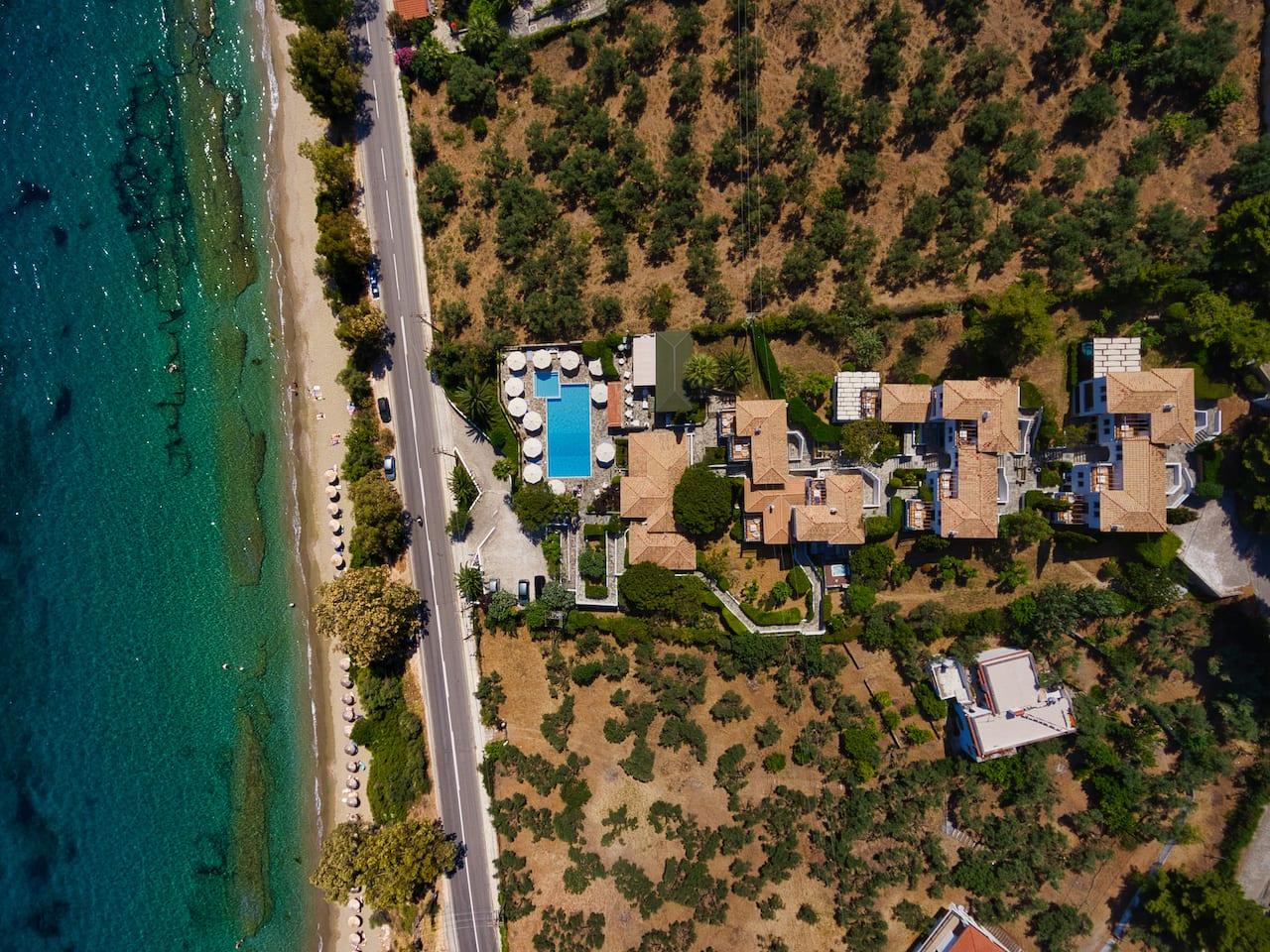 Aegean Suites Hotel (закуски)